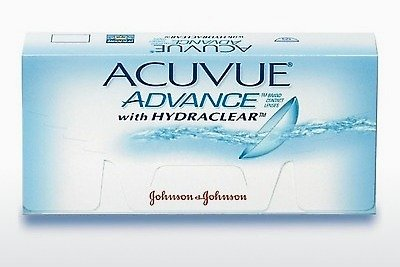 Lenti a contatto Johnson & Johnson ACUVUE ADVANCE with HYDRACLEAR AVG-6P-REV