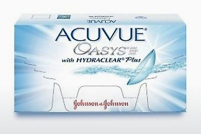Lenti a contatto Johnson & Johnson ACUVUE OASYS with HYDRACLEAR Plus PH-6P-REV