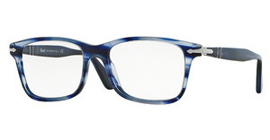 Persol PO3014VM 943 STRIPPED BLUE