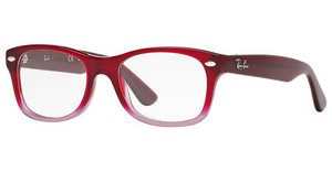 Ray-Ban Junior RY1528 3583 OPAL RED FADED OPAL VIOLET