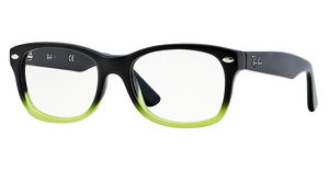 Ray-Ban Junior RY1528 3594 BLACK GRADIENT GREEN