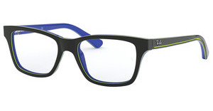 Ray-Ban Junior RY1536 3600 TOP DARK GREY ON BLUE