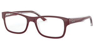 Ray-Ban RX5268 5738 TOP BORDEAUX ON TRASPARENT