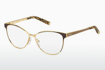 Occhiali design Max Mara MM 1255 MH8 - Oro, Marrone