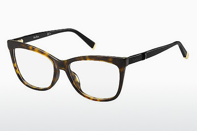 Occhiali design Max Mara MM 1263 KVX - Nero, Marrone, Avana