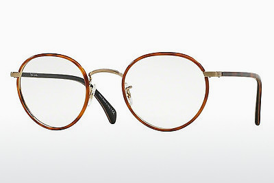 Occhiali design Paul Smith KENNINGTON (PM4073J 5236) - Arancione, Marrone, Avana, Oro