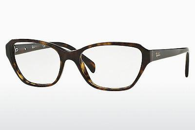 Occhiali design Ray-Ban RX5341 2012 - Marrone, Avana
