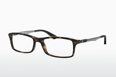 Occhiali design Ray-Ban RX7017 5200 - Marrone, Avana