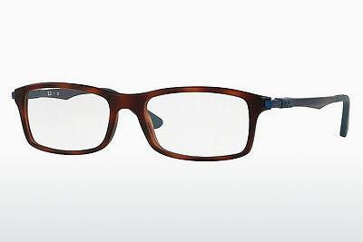 Occhiali design Ray-Ban RX7017 5574 - Marrone, Avana