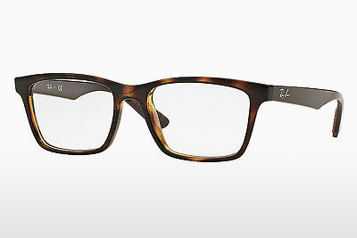 Occhiali design Ray-Ban RX7025 5577 - Marrone, Avana