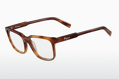 Occhiali design Salvatore Ferragamo SF2753 218 - Marrone, Havana