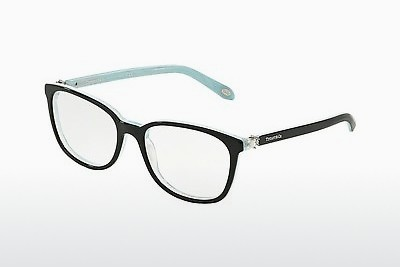 Occhiali design Tiffany TF2109HB 8193 - Nero, Marrone, Avana, Blu