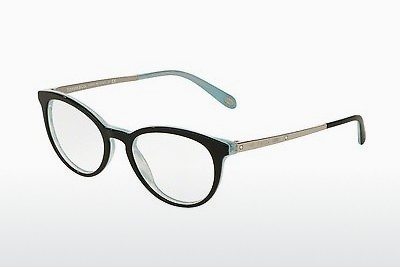 Occhiali design Tiffany TF2128B 8193 - Nero, Marrone, Avana, Blu
