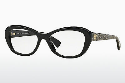 Occhiali design Versace VE3216 5156 - Nero