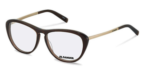 Jil Sander J4013 C brown, gold