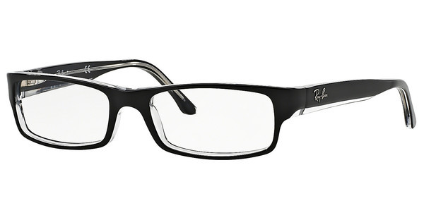 Ray-Ban RX5114 2034 TOP BLACK ON TRANSPARENT