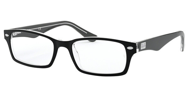 Ray-Ban RX5206 2034 TOP BLACK ON TRANSPARENT