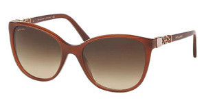 Bvlgari BV8145B 533413 BROWN GRADIENTTRANSPARENT BROWN