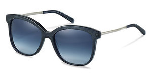Jil Sander J3012 D blue gradient - 86%blue structured, palladium