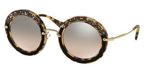 Miu Miu MU 08RS 7S04P0 BROWN MIRROR GRADIENTLIGHT HAVANA