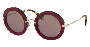 Miu Miu MU 08RS U6A6X1 PURPLE BROWNDARK VIOLET