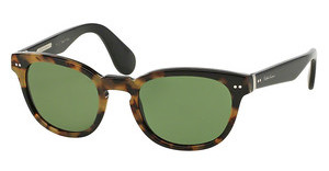 Ralph Lauren RL8130P 525452 GREENHAVANA SPOTTY ON BLACK