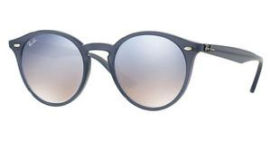 Ray-Ban RB2180 62327B CLEAR GRAD BLUE MIRROR SILVEROPAL DARK AZURE