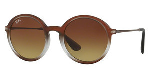 Ray-Ban RB4222 622413 BROWN GRADIENT DARK BROWNBROWN SHOT ON BLACK