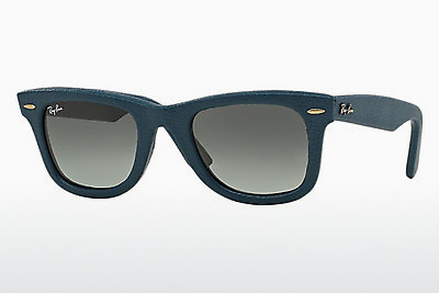Occhiali da vista Ray-Ban WAYFARER LEATHER (RB2140QM 116871) - Blu