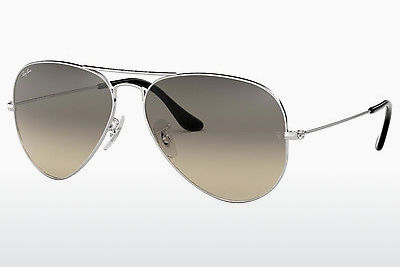 Occhiali da vista Ray-Ban AVIATOR LARGE METAL (RB3025 003/32) - Argentato