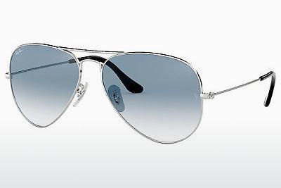 Occhiali da vista Ray-Ban AVIATOR LARGE METAL (RB3025 003/3F) - Argentato