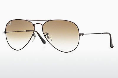 Occhiali da vista Ray-Ban AVIATOR LARGE METAL (RB3025 014/51) - Marrone