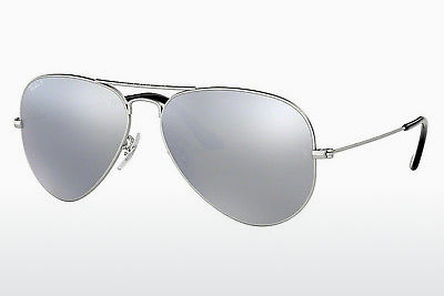 Occhiali da vista Ray-Ban AVIATOR LARGE METAL (RB3025 019/W3) - Argentato