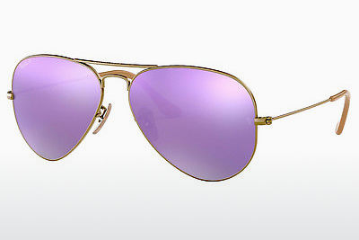 Occhiali da vista Ray-Ban AVIATOR LARGE METAL (RB3025 167/1R) - Marrone