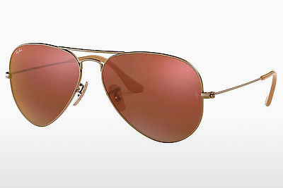 Occhiali da vista Ray-Ban AVIATOR LARGE METAL (RB3025 167/2K) - Marrone, Bronzo