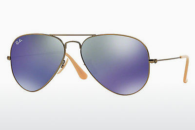 Occhiali da vista Ray-Ban AVIATOR LARGE METAL (RB3025 167/68) - Marrone