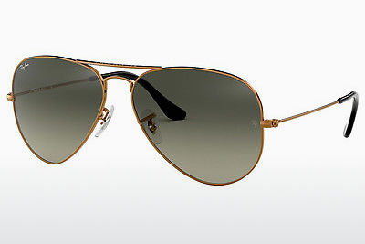 Occhiali da vista Ray-Ban AVIATOR LARGE METAL (RB3025 197/71) - Marrone