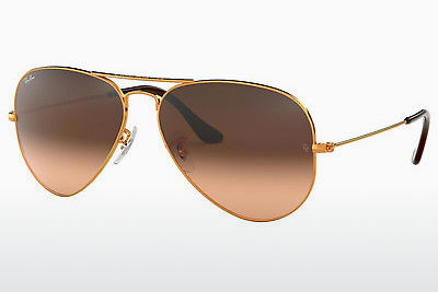 Occhiali da vista Ray-Ban AVIATOR LARGE METAL (RB3025 9001A5) - Marrone