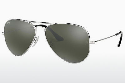 Occhiali da vista Ray-Ban AVIATOR LARGE METAL (RB3025 W3277) - Argentato
