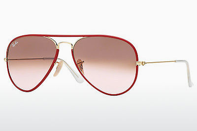 Occhiali da vista Ray-Ban AVIATOR FULL COLOR (RB3025JM 001/X3) - Rosso