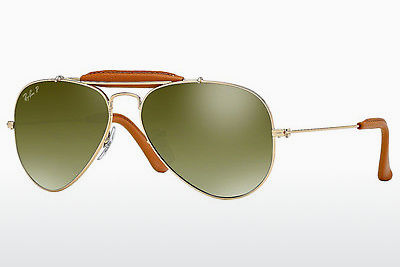 Occhiali da vista Ray-Ban AVIATOR CRAFT (RB3422Q 001/M9) - Oro, Marrone