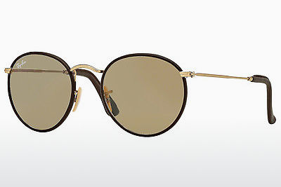 Occhiali da vista Ray-Ban ROUND CRAFT (RB3475Q 112/53) - Oro, Marrone