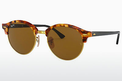 Occhiali da vista Ray-Ban Clubround (RB4246 1160) - Marrone, Avana