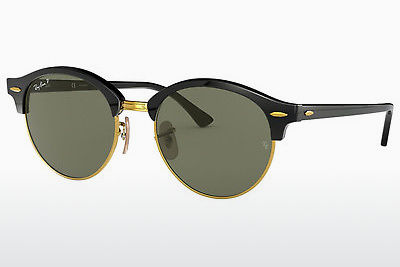 Occhiali da vista Ray-Ban CLUBROUND (RB4246 901/58) - Nero