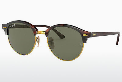 Occhiali da vista Ray-Ban CLUBROUND (RB4246 990/58) - Marrone, Avana
