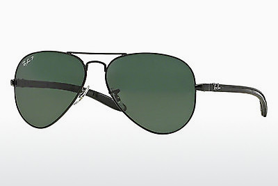 Occhiali da vista Ray-Ban AVIATOR TM CARBON FIBRE (RB8307 002/N5) - Nero