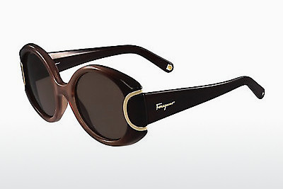 Occhiali da vista Salvatore Ferragamo SF811S SIGNATURE 212 - Marrone