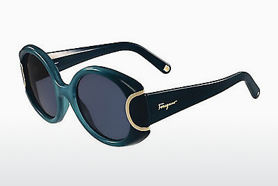 Occhiali da vista Salvatore Ferragamo SF811S SIGNATURE 446 - Marrone