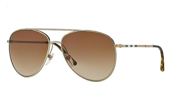 Burberry BE3072 114513 BROWN GRDIENTBURBERRY GOLD