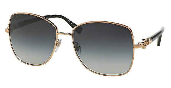 Bvlgari BV6062K 395/3C GRAY GRADIENTPINK GOLD PLATED